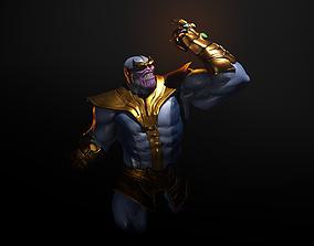 Thanos statue 3D printable model