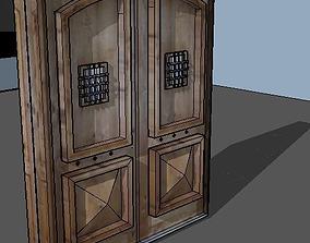 Haunted house door 3D