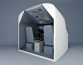 Boeing 737 simulator adapted for children 3D