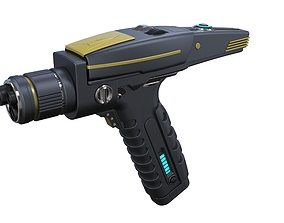Phaser pistol from Star Trek 3D printable model