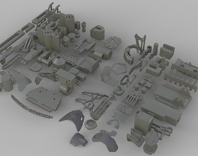 3D Kitbash pack num1