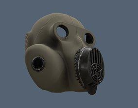 3D model Soviet gas mask GBF Homiak