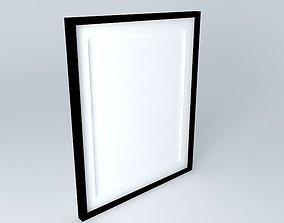 3D model frame frame