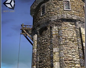 Wizards Tower 3D model