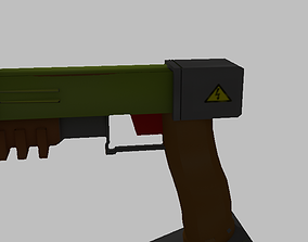 Voltage Gun 3D model gun