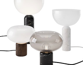 3D Karl-Johan and Kizu Table Lamp by New Works