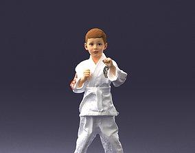 Kimono boy 1016-2 3D model