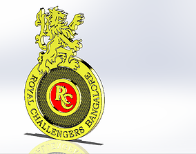 Royal Challengers Bangalore 3D printable model
