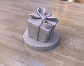 3D print model Present