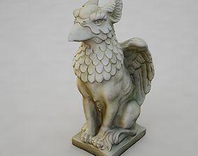 3D Griffon Statu