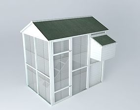 Cocote henhouse houses the world 3D model