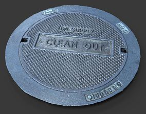 3D model Clean Out Utility Cover