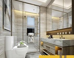 displacement 003-Hanhart-Modern-Bathroom-toilet 3D
