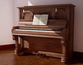Piano 4 3D asset