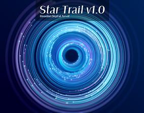 Star trail Houdini HDA 3D animated