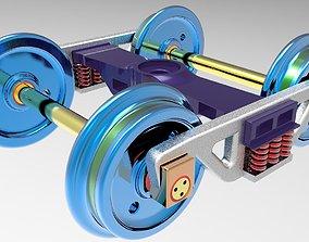 Custom CASNUB bogie 3D printable model