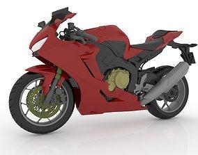 Honda CBR 1000RR Fireblade For 3D Printable Model STL