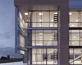 3D model Sciences and Teaching Facility Building