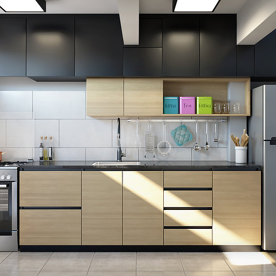 Kitchen - Residential Visualization