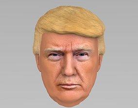 3D President Donald Trump