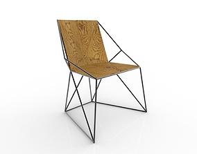 3D Chair Geometric 2