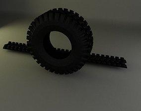 3D model otr tire