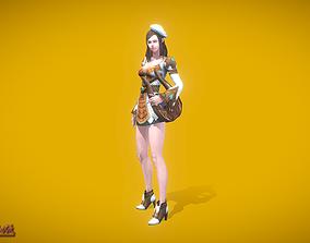 3D asset RPG Bard