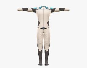 3D model Pilot Man Cloth