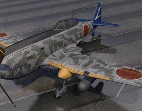 3D model Nakajima Ki-87-1