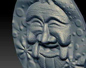 relif 3D MASK FACE