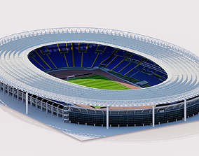Stadio Olimpico - Rome Italy 3D