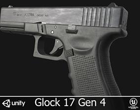 Glock 17 Gen 4 3D model