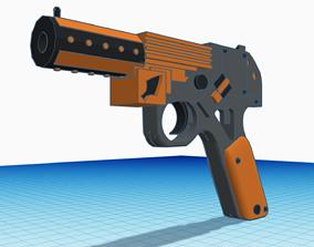 Sci-fi Pistol 3D print model