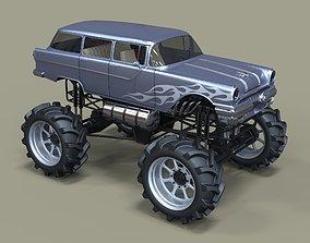 v8 Monster truck 3D