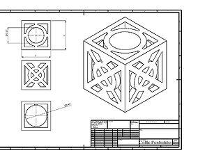 Celtic Penholder 1 3D print model