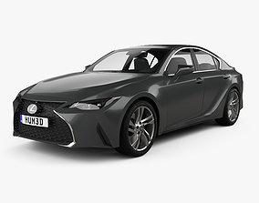 3D model Lexus IS 2021
