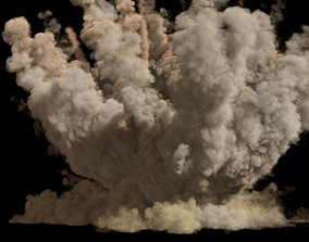 Dust explosion with PhoenixFD 3D