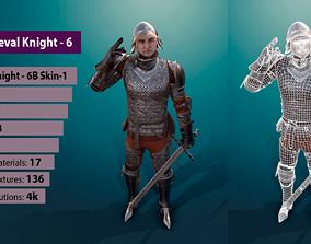 3D model TAB Medieval Knight - 6B - Skin1