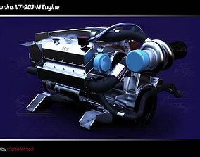 Cummins VT-903-M Engine 3D model