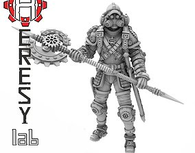 Heresylab - Steam Punk Than Axel 3D printable model