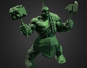 HULK FROM THOR RAGNAROK INSPIRITED MODEL