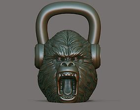 Gorilla Kettlebell 3D print model