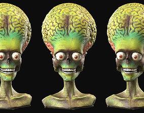 Martian Figure Scan 3D