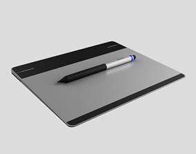 3D model Intou CTL 480 Drawing tablet