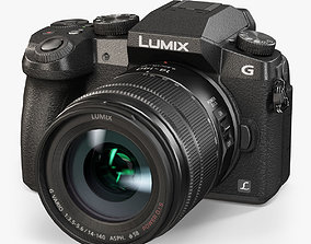 3D asset Panasonic Lumix DMC-G7 Kit 14-140mm