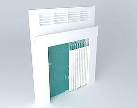 Main door for flat 3D