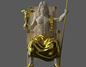 Zeus Statue 3D asset