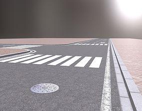 Road base 3D asset