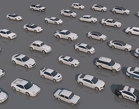 32 Vehicle Pack V1 3D model