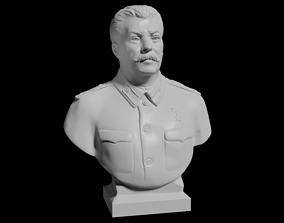 Joseph Vissarionovich Stalin Bust 3D print model